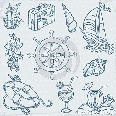 Doodle Travel Set