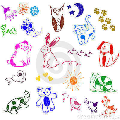 Doodles animali