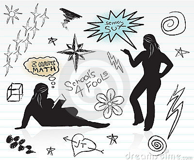 Doodles della High School