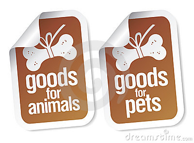Doods for pets stickers