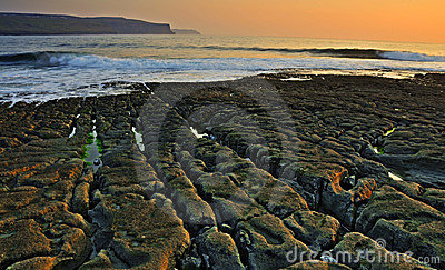 Doolin beach, county clare, ireland