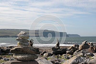 Doolin beach rock stacks