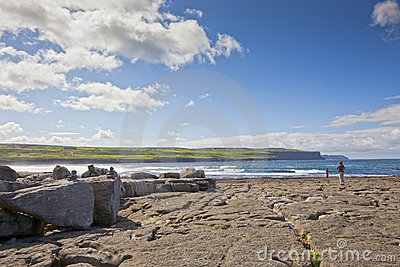Doolin s Bay, The Burren. Looking at View