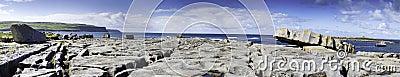 Doolin s Bay, The Burren. Panorama
