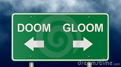 Doom and Gloom Road Sign