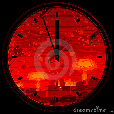 Free Doomsday Clock Royalty Free Stock Images - 12598389