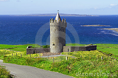 Doonagore castle in Co. Clare