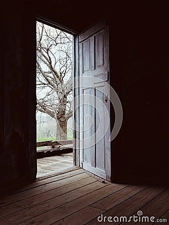 Free Door _Darkness To Light Stock Photos - 2743433