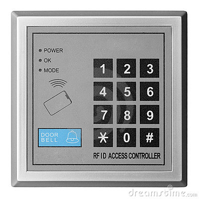 Free Door Access Controller Royalty Free Stock Images - 13724729