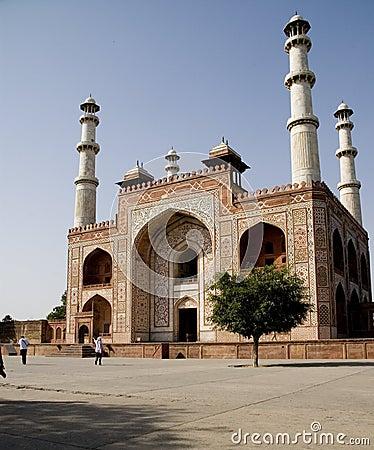The door of Akbar s tomb