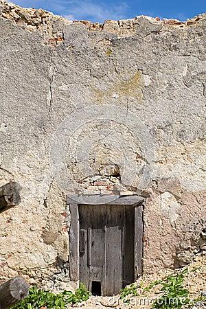 Door of a Ancient Ruin