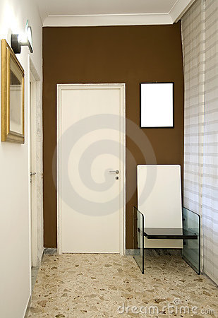 Free Door And Chair Stock Photography - 12643802
