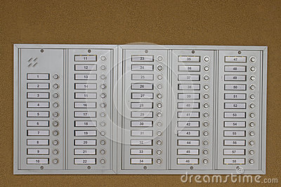 Door Bell Buttons Royalty Free Stock Image - Image: 31577026