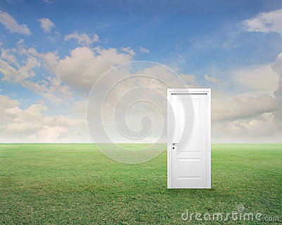 Door with the Clouds