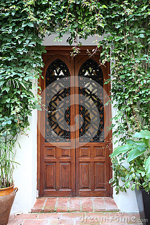Door in Cordoba, Spain