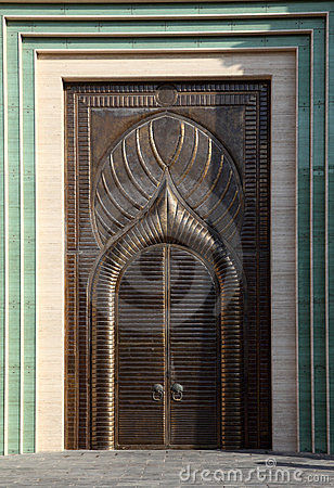 Door in Doha, Qatar
