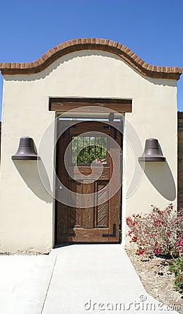 Door on Garden Wall