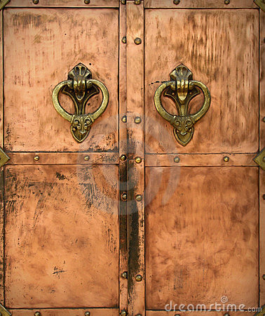 Free Door Handle Royalty Free Stock Photo - 1602695