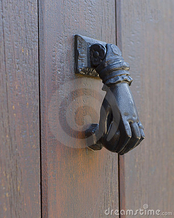 Door handle/knocker