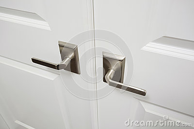 interior door handles for homes door handles inside new luxury home stock photo image of 24478