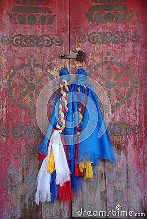 Door handles, Mongolia
