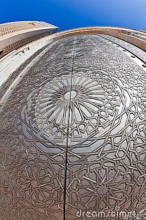 Door Hassan II Mosque