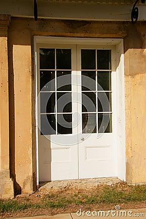 Door in Historic Building