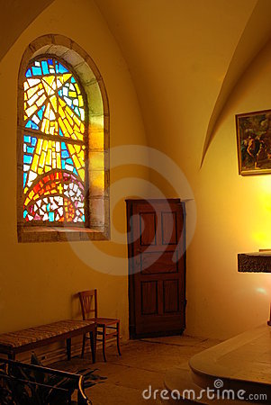 Free Door In A Church Royalty Free Stock Image - 7084976