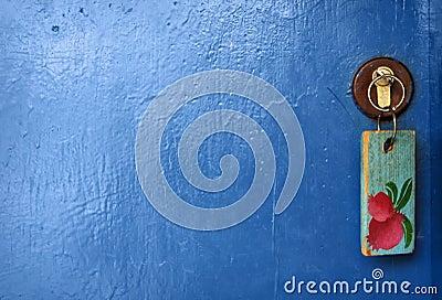 Door  and key.