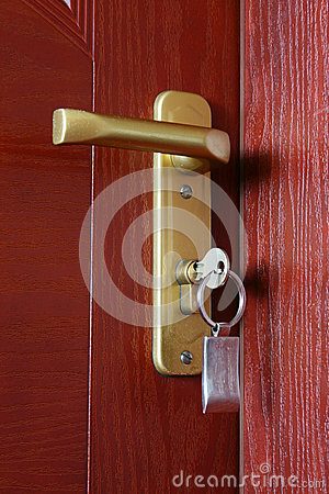 Door with key