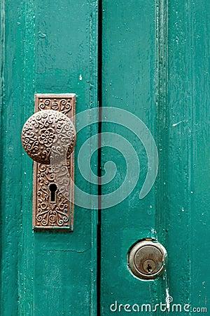 Free Door Knob,Antique Door Knob. Royalty Free Stock Photography - 97202367