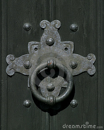 Free Door Knocker Stock Image - 12241