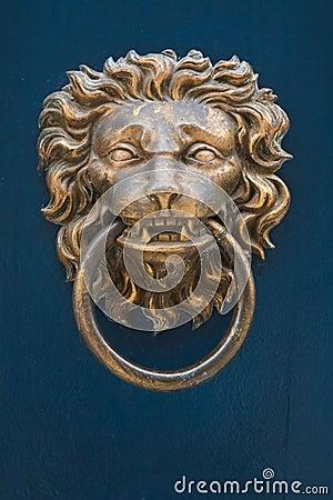 Free Door Knocker Royalty Free Stock Image - 18645736