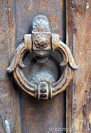 Door Knocker Royalty Free Stock Photo - Image: 7085155