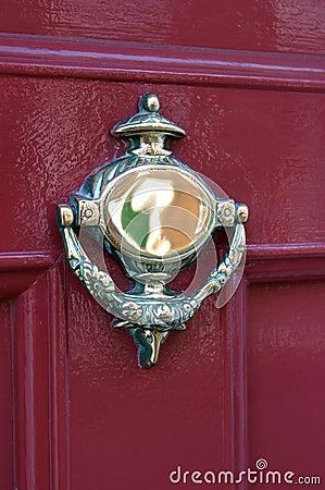 Free Door Knocker Stock Photography - 74832