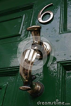 Free Door Knocker, Georgian Royalty Free Stock Images - 48419