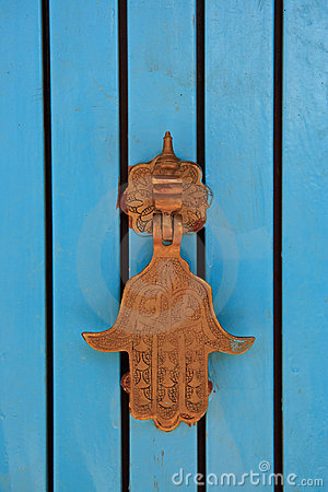 Door knocker - hamsa