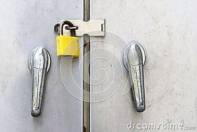 Door and lock