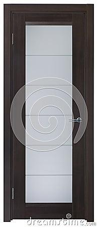 Door made of wood