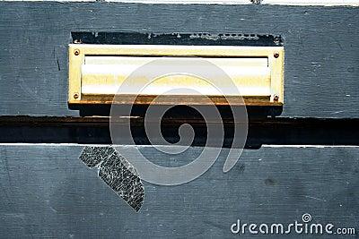 Door mail slot
