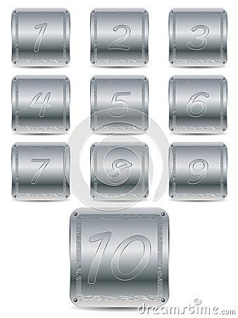 Door number plates