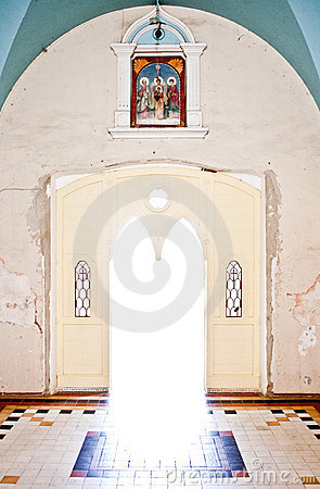 Free Door Of Church Royalty Free Stock Photos - 10278248