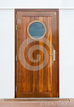 Free Door On The Ship Royalty Free Stock Photography - 26294837
