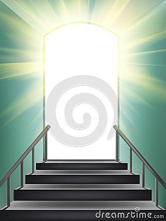 Door in paradise