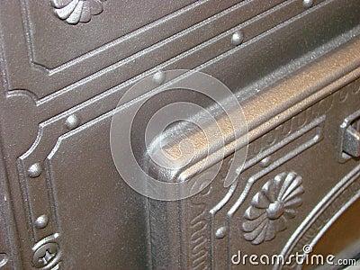 Door of a pig-iron oven