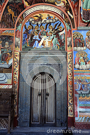 Door in the Rila Monastery