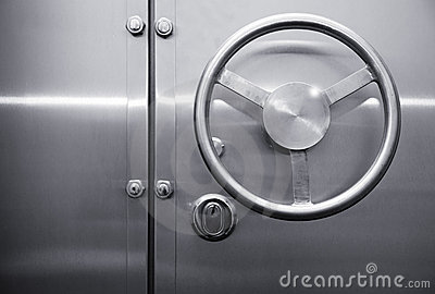 Door of the safe