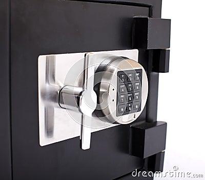 Door of the safe