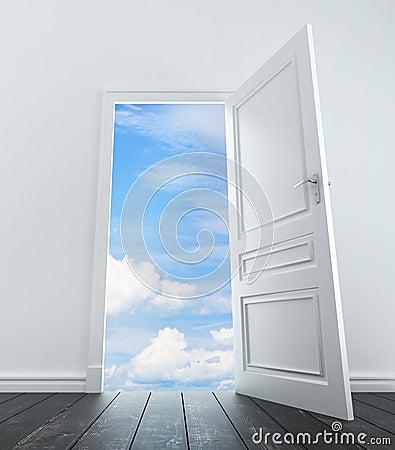 Door in sky