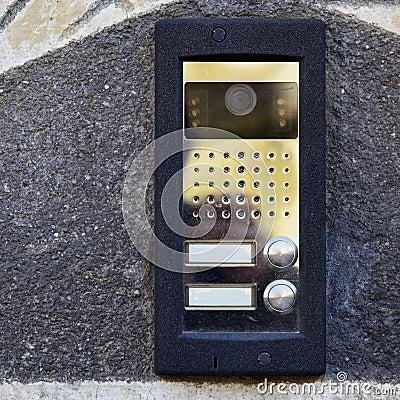 On-door speakerphone